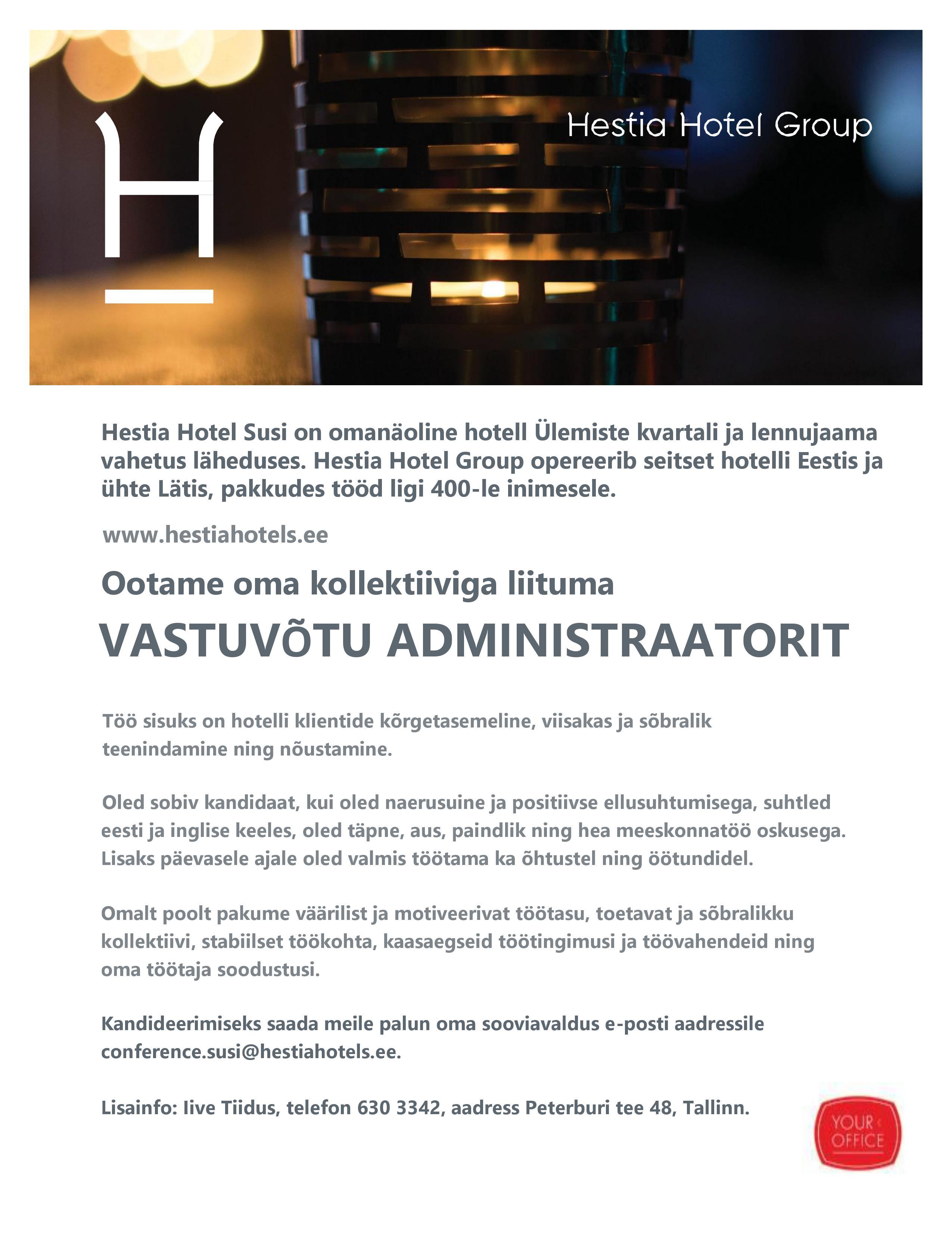 7acd44e3b9e Uudised - Eesti Hotellide ja Restoranide Liit